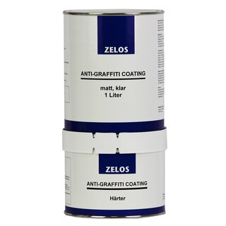 ZELOS ANTI-GRAFFITI COATING matt klar 1L