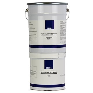 ZELOS ANTI-GRAFFITI COATING, matt, weiß, 5L