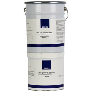 ZELOS ANTI-GRAFFITI COATING ultramatt klar 5L