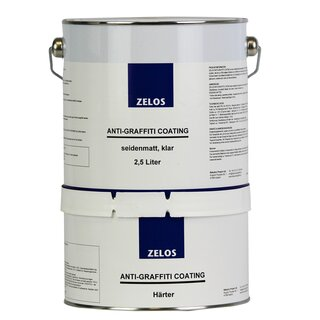 ZELOS ANTI-GRAFFITI COATING seidenmatt klar 2,5L